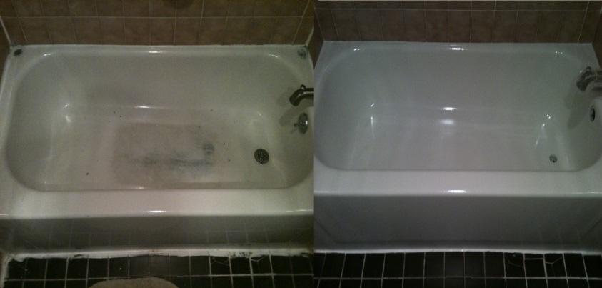 New Glaze Refinishing | Bathtub Countertop Reglazing Refinishing